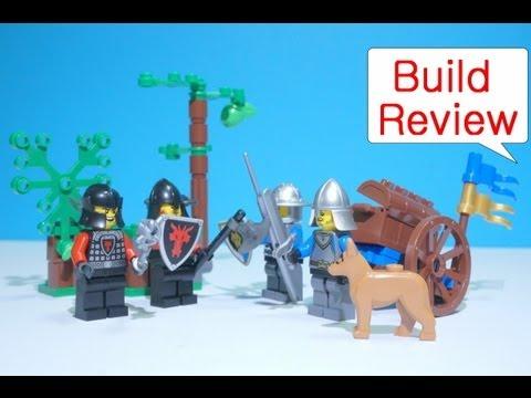 Vidéo LEGO Castle 70400 : L'embuscade dans la forêt