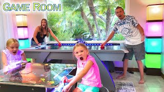 Game Room Tour at the Lake House!!!