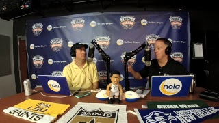 Dunc & Holder on Sports 1280 in New Orleans. October 20, 2017