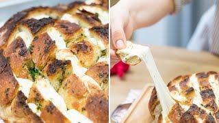 Sarımsaklı Peynirli Ekmek  | İrem Güzey