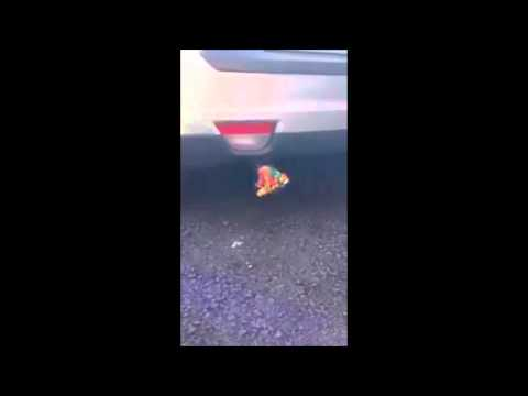 Funny Car Exhaust Pipe