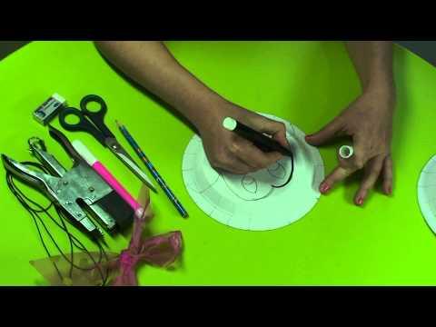 Πως να φτιάξετε μάσκα Μίκι και Μίνι Μάους
