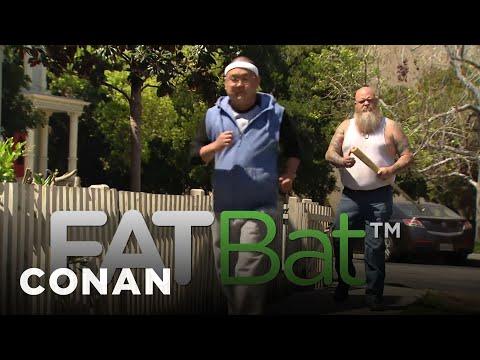 Meet Your Fitness Goals With FatBat  - CONAN on TBS