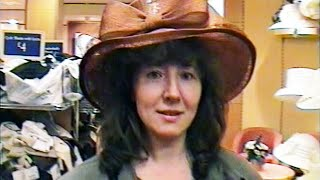 London. Shopping. Trying Hats On