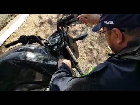 PRF apreende motocicleta com 47 infrações de trânsito e R$ 10,3 mil em débitos de licenciamento