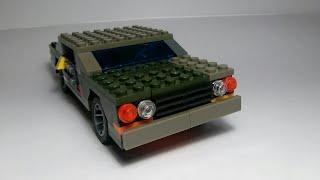 2-я версия машины с независимой подвеской из Лего
