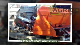 Погрузчик фронтальный КУН-высота подъема 4,6 м от компании Агрикомаш ООО - видео