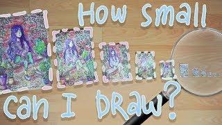 Насколько Маленький Рисунок Можно Нарисовать?\ How Small Can I Draw