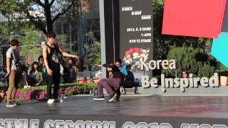 KTO B-Boy Freestyle Seoul May 2013 #5