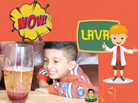 How to Make Lava Lamp at Home! Homemade Easy Science Experiments for Kids!!!