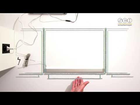 DualColor LED-Schrankleuchte – Schrank auf, Licht an