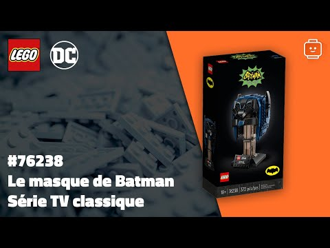 Vidéo LEGO DC Comics 76238 : Le masque de Batman – Série TV classique