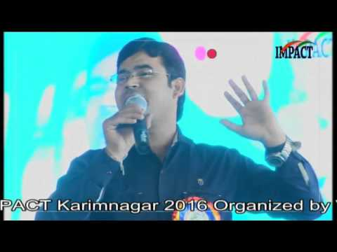 Communication Skills-Spoken English|Karthik|TELUGU IMPACT Karimnagar 2016