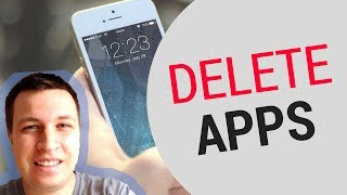 ✌️ How to DELETE APPS on iPHONE 2018?