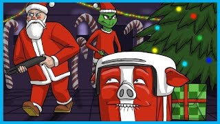Gmod Prop Hunt Funny Moments Christmas Edition! - Santa Claus vs The Grinch!