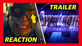 AVENGERS END GAME 2ND TRAILER REACTION