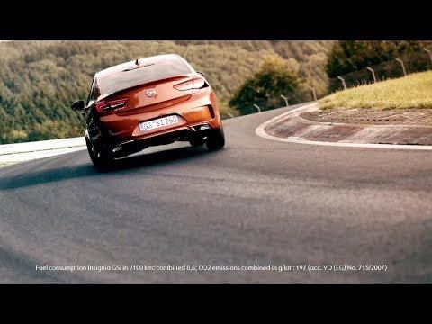 Yeni Opel Insignia GSI, Nürburgringde!