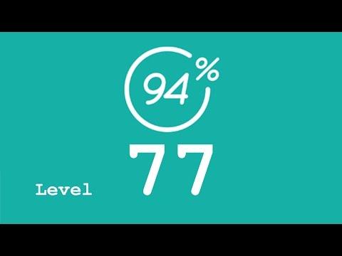 94 Prozent (94%) - Level 77 - Angeln - Lösung