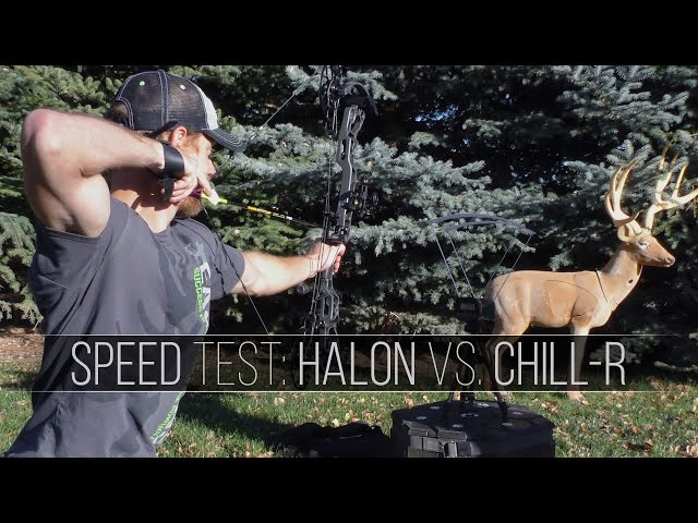 Mathews Halon VS Chill R - Speed Test Bow Review