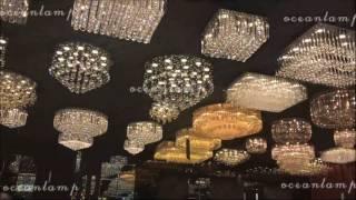 Ocean  Crystal Ceiling Lamp