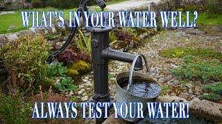 What is in your well water? Bacteria? Test kit review and DIY test instructions.