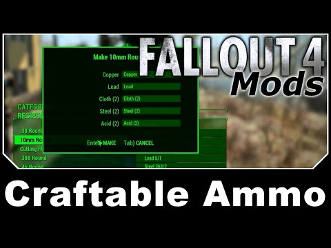 Fallout 4 [Figuring Out the Ammunition Workbench] - #13
