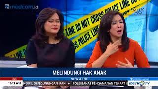 Novita Tandry Live di Metro TV NewsLine topik Menjaga Hak Anak