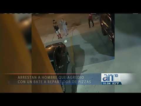 Policía de Hialeah arresta al cubano que golpeó con un bate a un joven repartidor de Pizza