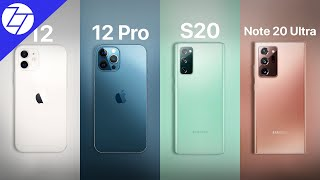 iPhone 12/12 Pro Max vs Samsung Galaxy S20/Note 20 Ultra - Which One to Get?