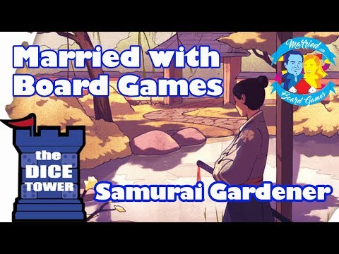 Samurai Gardener Review with Married with Board Games