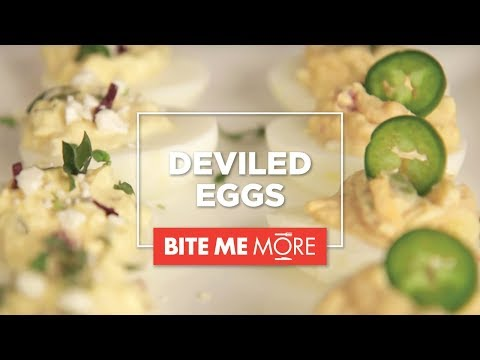 EASY APPETIZER RECIPE – Deviled Eggs