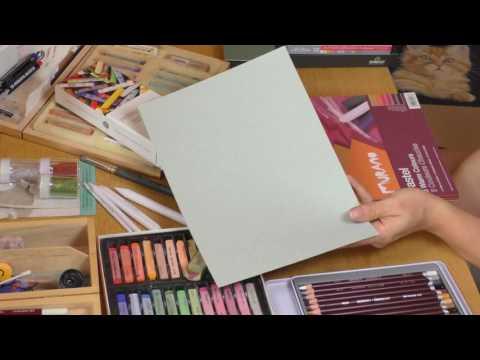 Pastellkreide Material-Vergleich [Teil 2]: Weiche Buntstifte und Pastellpapier