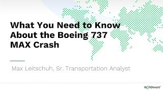 What You Need to Know About the Boeing 737 MAX