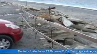 preview picture of video 'Al Lungomare dei Mille di Melito di Porto Salvo la palma del degrado'