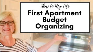 First Apartment Organizing / Dollar Tree Organizing / 1st Apartment Checklist