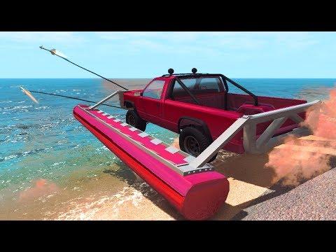 Rocket Ride Crashes #3 Beamng Drive
