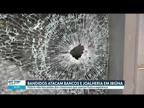 Bandidos atacam bancos e joalheria em Ibiúna e fogem para Juquitiba