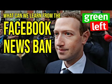 What can we learn from the Facebook news ban?