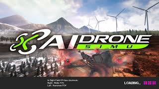 DJI FPV DRONE - AI DRONE SIM - FIRST PLAY