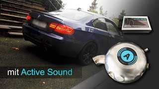 Active Sound im BMW Diesel 320d E92 Coupe - von insidePerformance