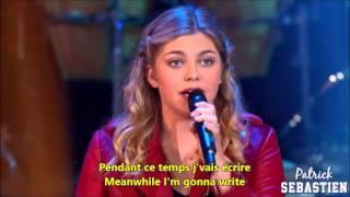 Louane Avenir English & French Lyrics Paroles Translation Learn French with Songs