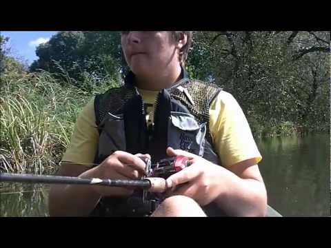 Kayak Fishing – Spinnerbaits & Horny Toads – Mill Pond