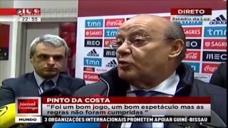 Fail No Resultado Do Benfica Vs FC Porto No Site Da Liga Portuguesa