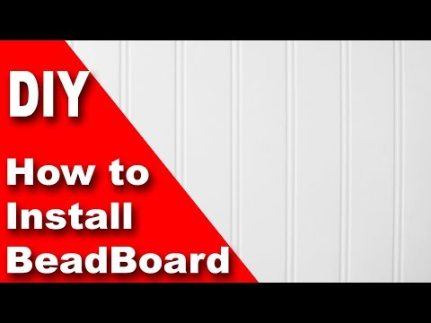 How To Install Beadboard / Wainscoting DIY Mp3