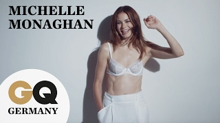 Hollywood-Traumfrau Michelle Monaghan in sexy Dessous I GQ Fotoshooting I Behind The Scenes