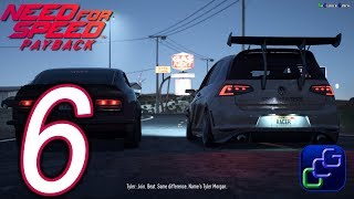 NEED FOR SPEED Payback PC 2K Walkthrough - Part 6 - Sprint Race: Graveyard Shift
