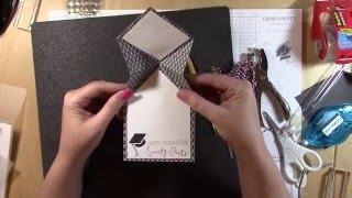 Cricut Folding Hat Graduation Card