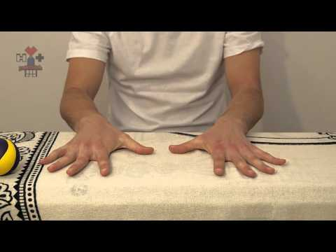 Комплекс упражнений для разработки суставов пальцев и кисти.