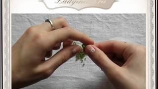 Как научиться параллельному плетению бисером - Видео онлайн