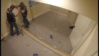 How To Hang A Wall Of Mirrors   THE HANDYMAN  
